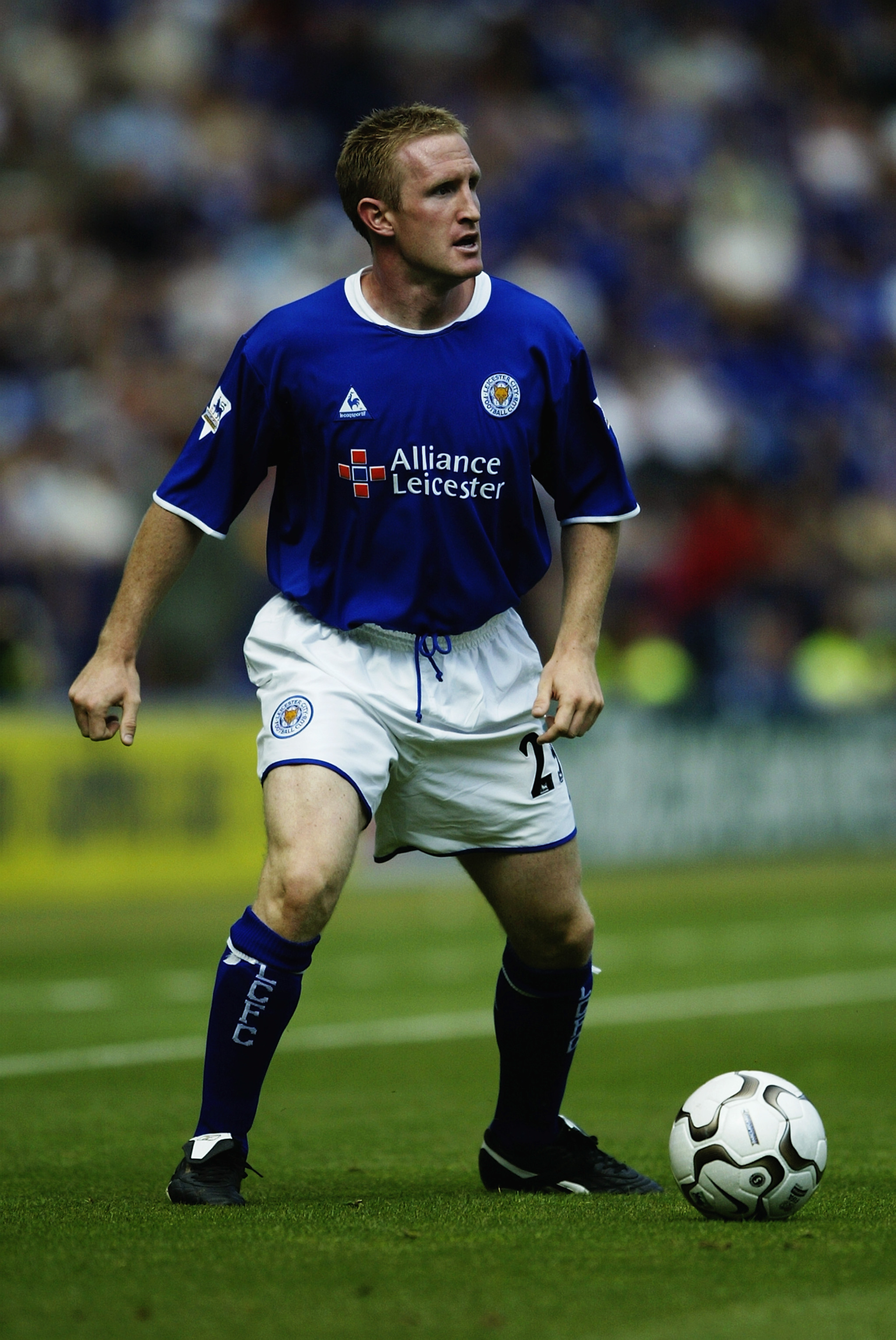 John Curtis Playing for Leicester City FC