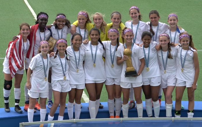 NCE 2006 Girls Gothia Cup Champions